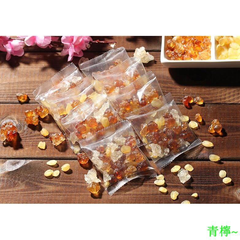 【2盒40次量】天然野生食用桃膠皂角米雪燕組合青檸