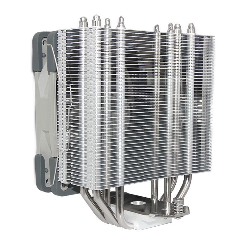 利民 AS120 塔扇 AS120 PLUS RGB CPU風冷散熱器 12CM ARGB燈光靜音風扇 刺靈 AS120