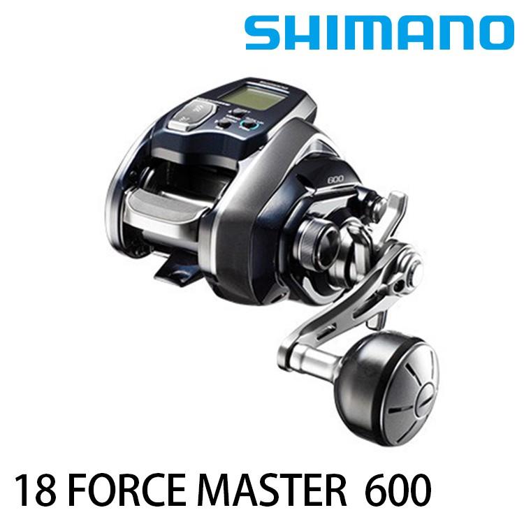 SHIMANO 18 FORCE MASTER 600 電捲 [漁拓釣具]