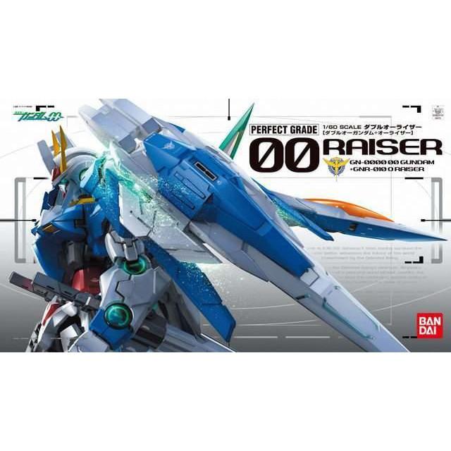 <遠翔玩具> [BANDAI] PG 1/60 00強化模組.00鋼彈+0強化戰機.GUNDAM