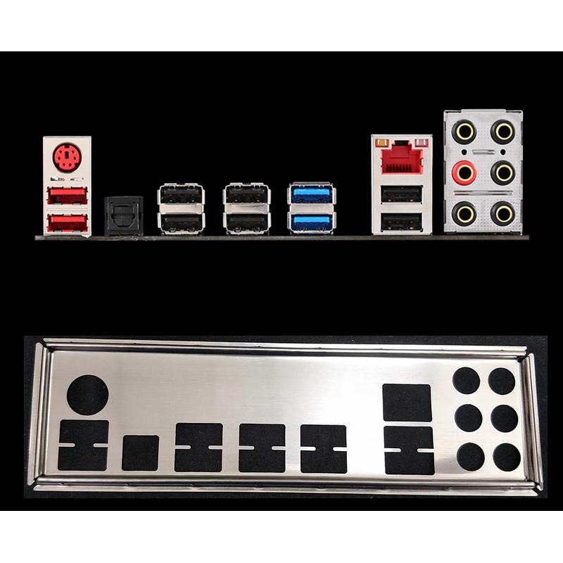 MSI 微星 970 GAMING、990FXA GAMING 1:1 訂製 不銹鋼 後檔板 後檔片