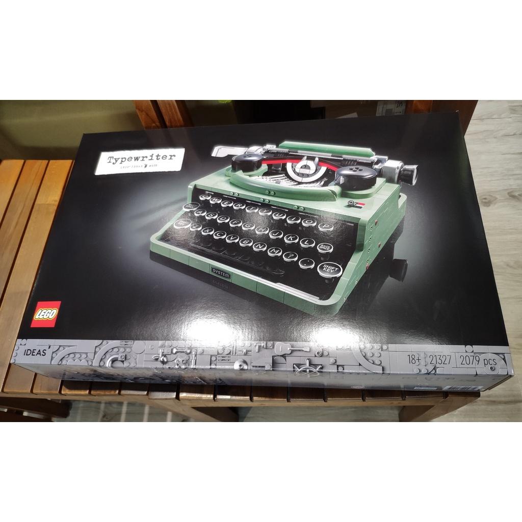 現貨 全新 樂高 LEGO 21327 IDEAS 打字機 Typewriter 復古 造型 積木