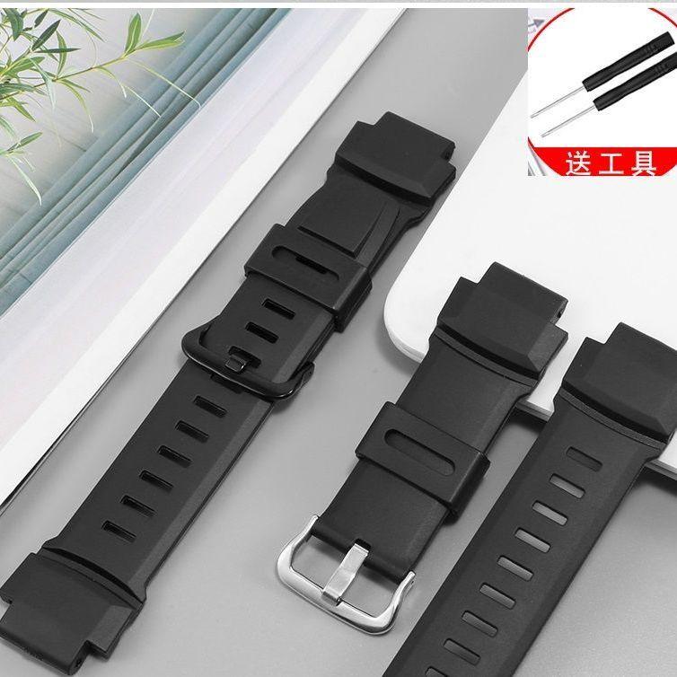 正品品質🎁代用卡西歐PRG-260/270/500 PRW-3500/2500/5100橡膠男手表帶配件