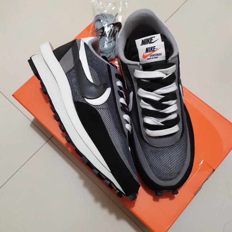 [KANYE] 🔥二手正品 Nike Sacai🔥 黑灰 us10 機掰新 二手美品 新到靠北