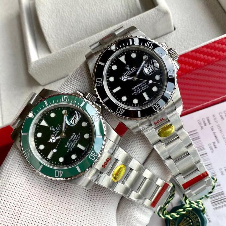 原廠 Rolex/勞力士 N廠V10 夜光 勞力士綠水鬼 勞力士黑水鬼 鬼王 潛航者 系列男士機械腕錶手表