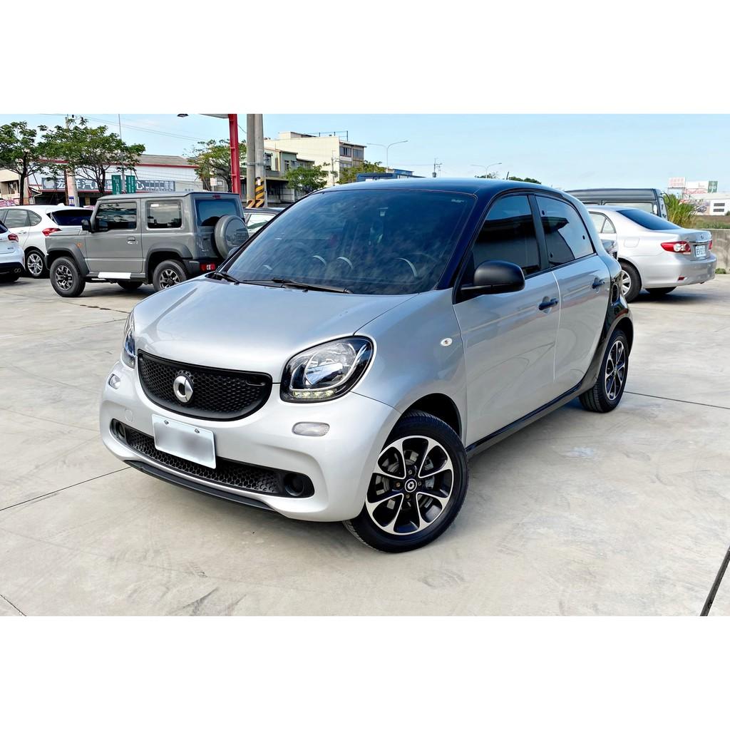 2016年 Smart ForFour 900cc 渦輪 安卓機 女用車 易停車好迴轉 可增貸 全貸 免頭款免聯徵 自售
