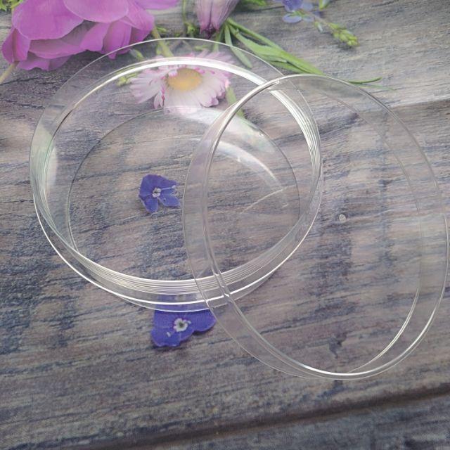 8吋果凍盒,透明盒子,果凍花專用