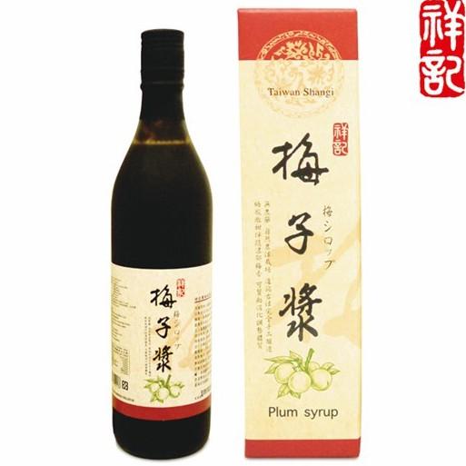 祥記 梅子漿 600ml/瓶(另有3瓶特惠)