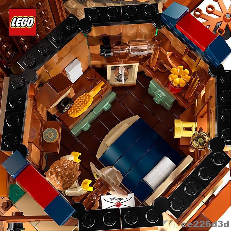 阿九的禮物 樂高樹屋櫻花21318房子別墅積木成年高難度巨大型女拼裝玩具LEGO