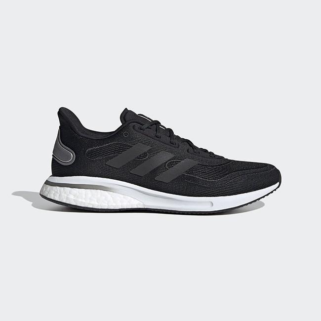 ADIDAS 男女款慢跑鞋-SUPERNOVA  透氣 網布鞋面 避震舒適 黑- EG5401 / EG5420