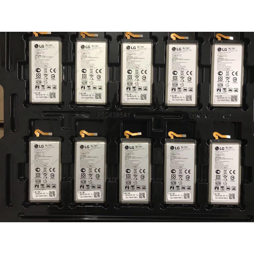 特惠☆適用于LG G8 ThinQ電池 g8手機電池BL-T41電芯電板電池nine.club