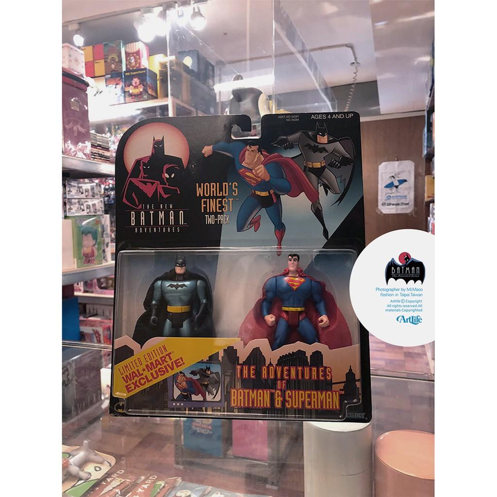 ArtLife @ KENNER 1992 DC Animated BATMAN SUPERMAN 經典 蝙蝠俠 超人