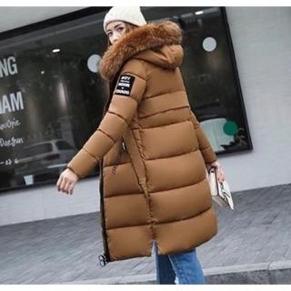 現貨✔️大毛領棉衣韓版寬鬆新款保暖中長過膝羽絨棉服女加厚外套棉襖大衣 桃園市