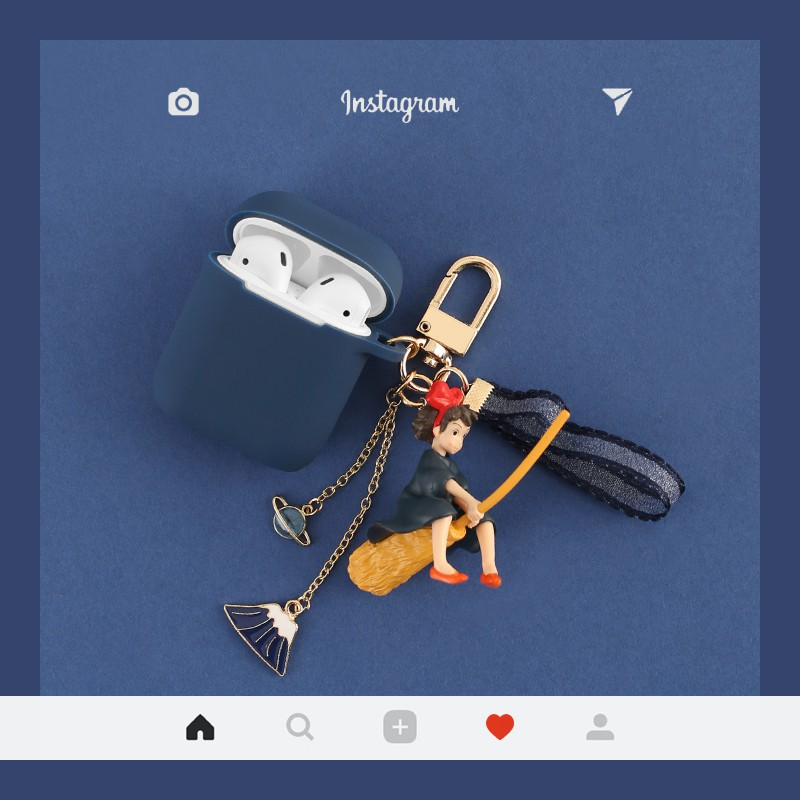 宮崎駿系列 Airpods pro 保護套 Airpods2保護套 防摔 耳機保護套 公仔 吊飾 airpods1保護殼