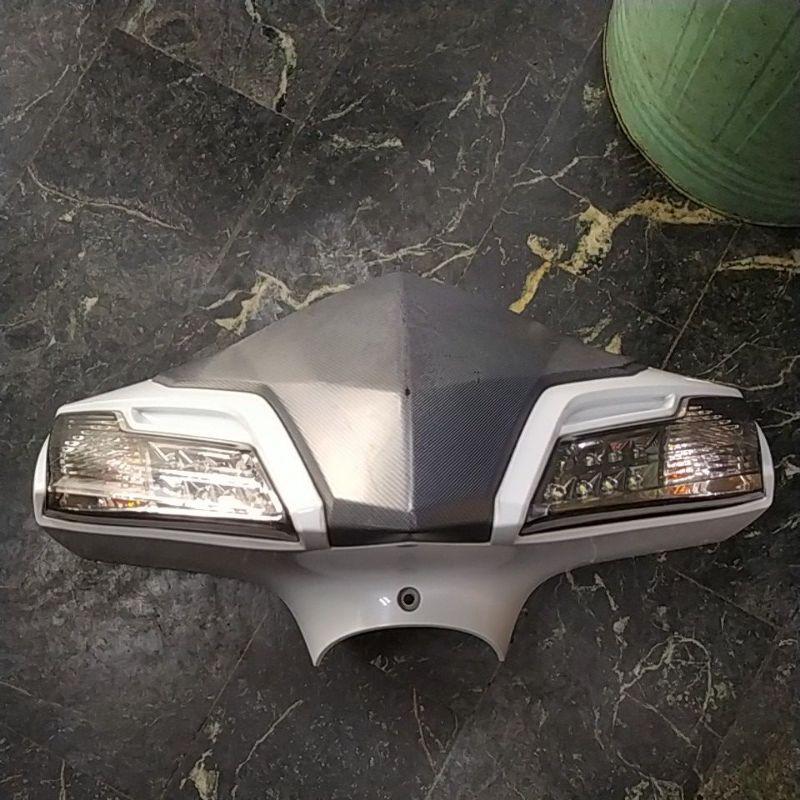 三陽悍將Fighter150頭殼方向燈二手正廠部品