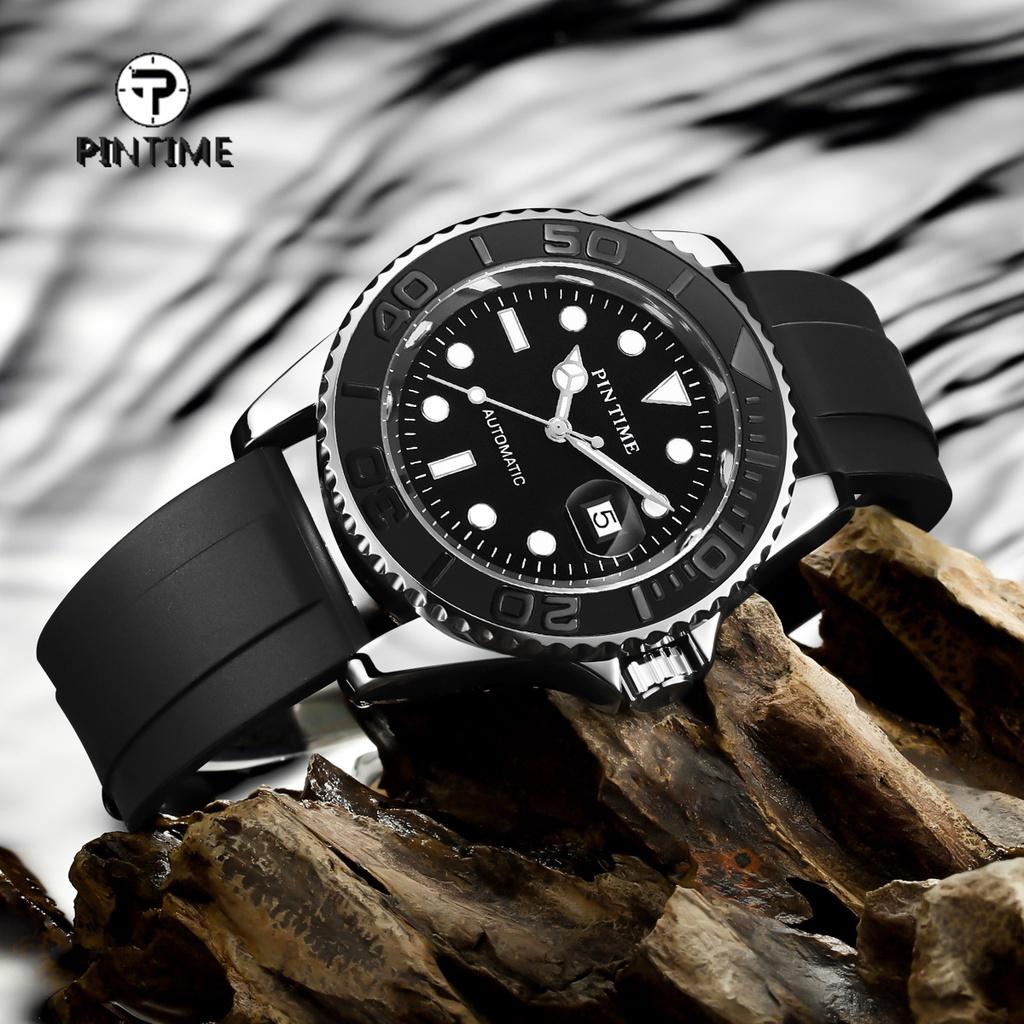Pintime 男士手錶全自動機械 2813 機芯