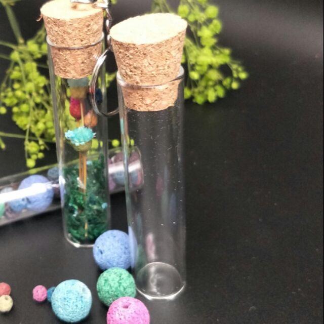 軟木塞玻璃試管,微景觀玻璃瓶(空瓶)