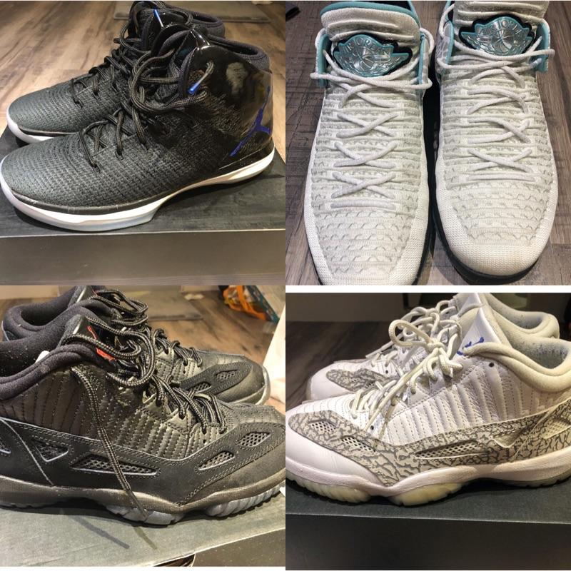 代友出售 Jordan 31 怪物奇兵 Jordan 32 白綠 Jordan 11 練習鞋 黑白