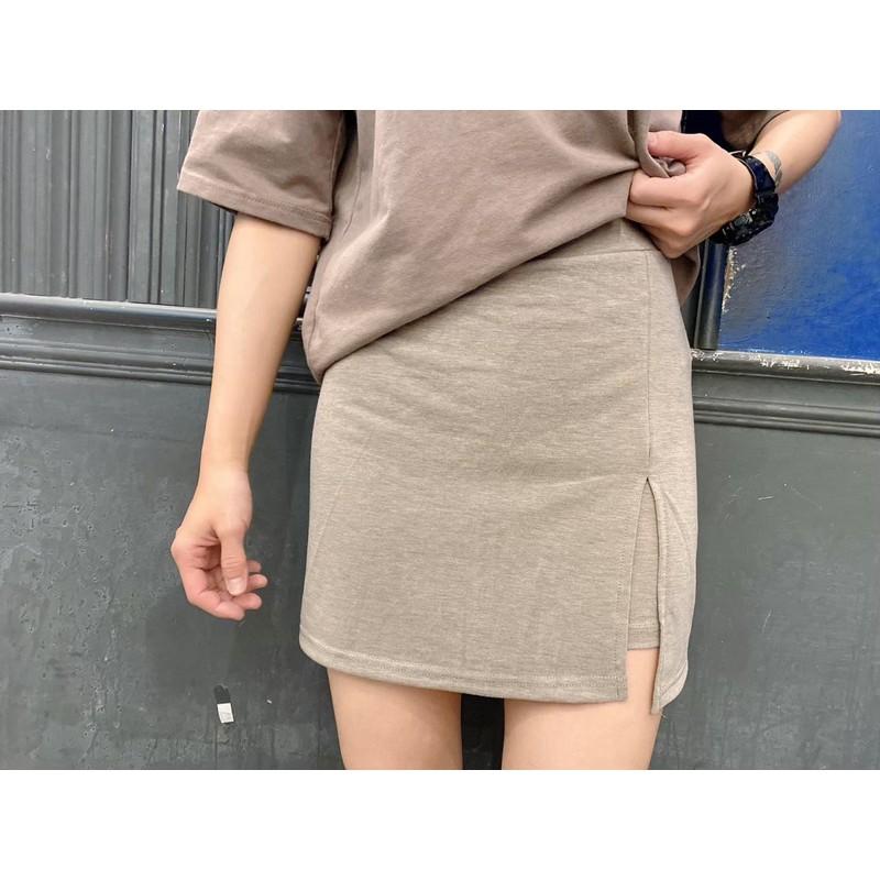 活動方便的棉質彈性褲裙