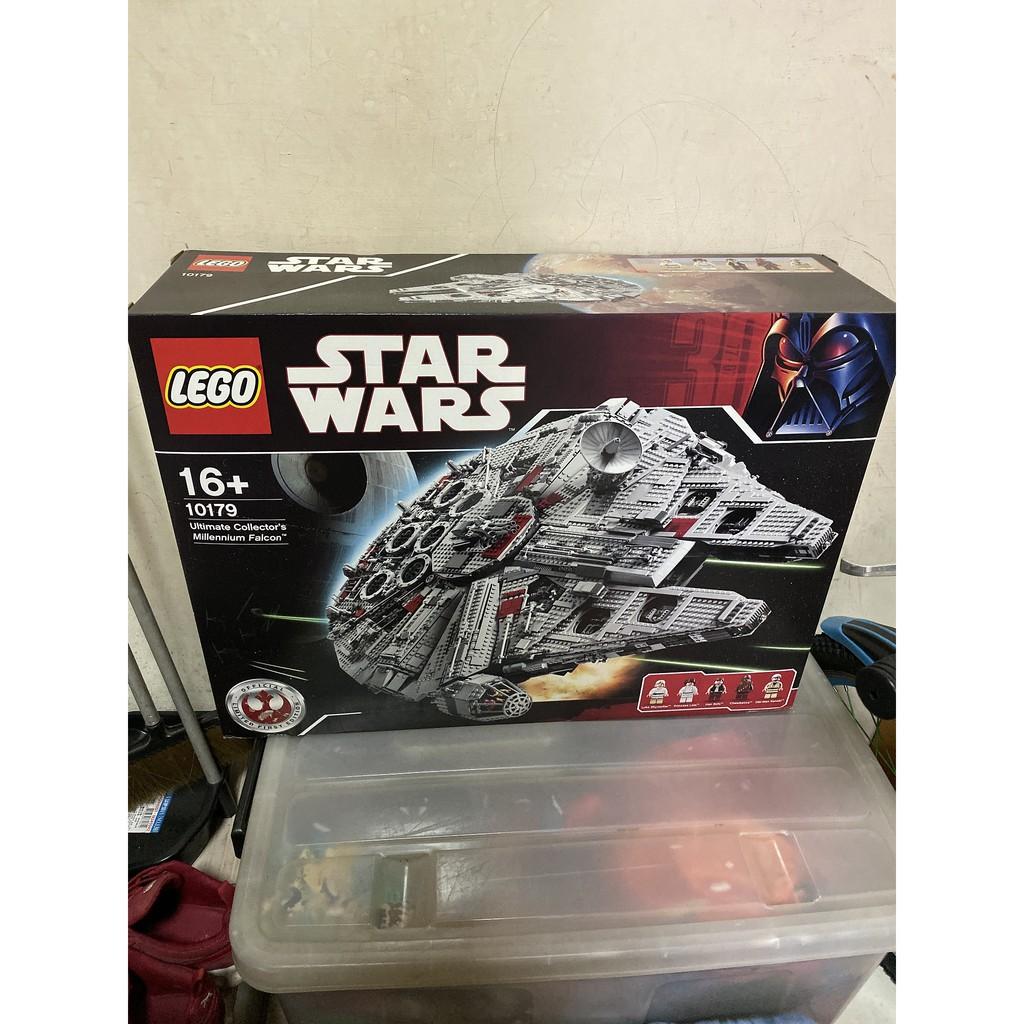 絕版 lego樂高 10179星戰