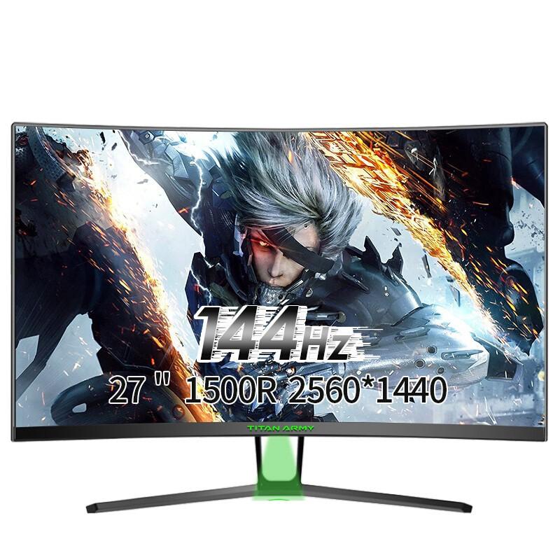 TITAN ARMY N27SQ PLUS 27吋 2K解析 144Hz 曲面螢幕 電競螢幕GAMING模式【神麒數位】