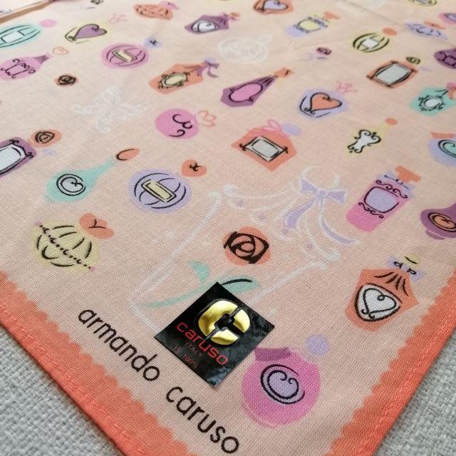 Armando caruso 絲巾 手帕