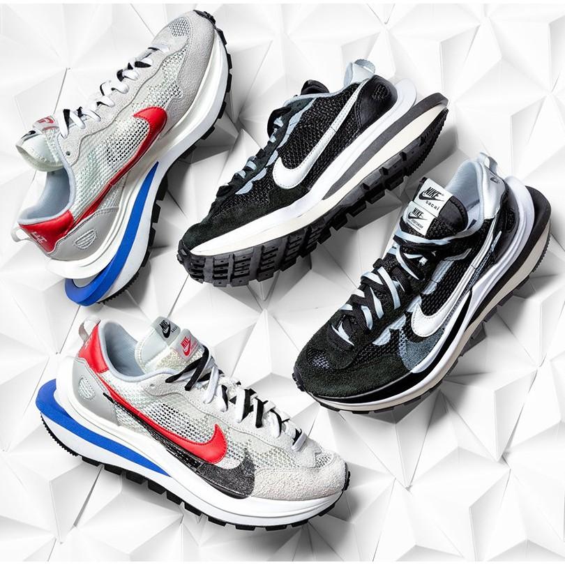 Sacai x Nike Vaporwaffle 白紅 黑白 CV1363-100 CV1363-001 IMPACT
