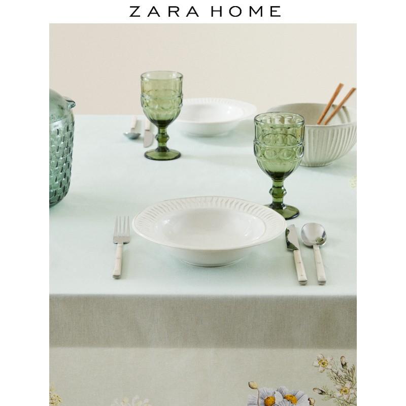 【精品】Zara Home 花卉印花北歐棉質桌布餐桌墊  42690021999