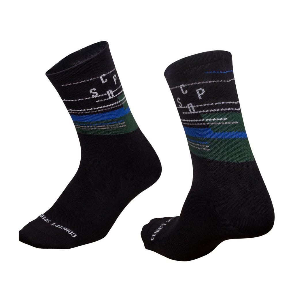 ▼樂威單車▼CSPD Socks.CSPD單車襪.CSPD車衣.單車襪.騎行襪 (黑)