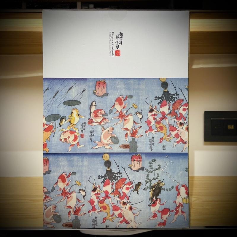 《日本藝術熊》BE@RBRICK 歌川國芳 金魚づくし 400%+100%SET