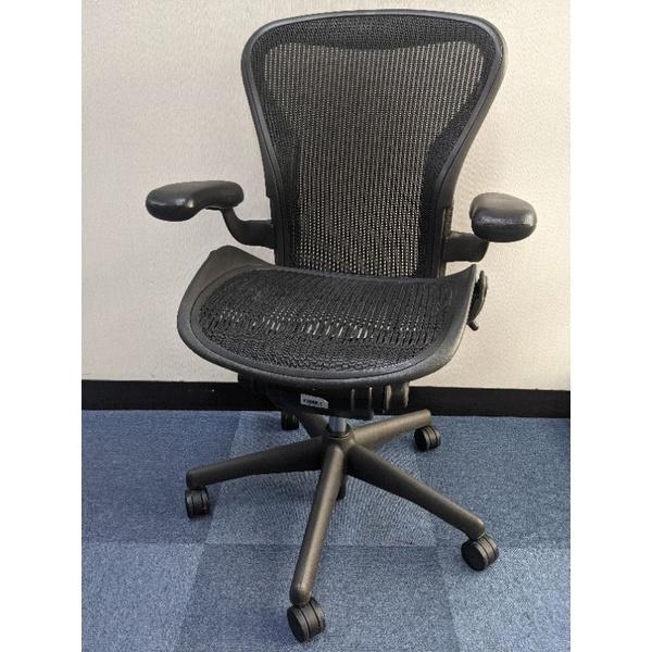 開學需要好椅!箱裝超氣派! Herman Miller Aeron 1.0 入門款人體工學椅 size B