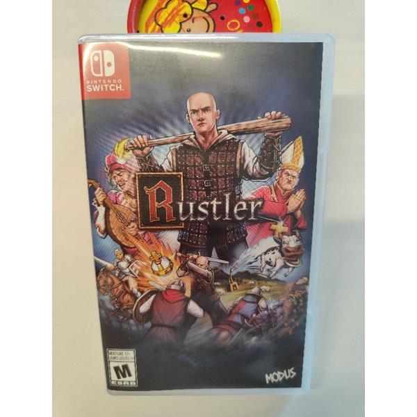 NS Switch 駿馬大盜 Rustler-二手遊戲,好玩.特別.GTA