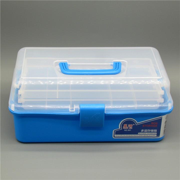 工具箱收納箱高達模型製作軍事拼裝工具手辦粘土軟陶雕塑工具箱
