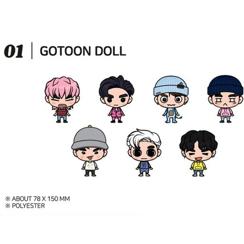 GOT7 GOTOON SUMMER STORE 炸毛