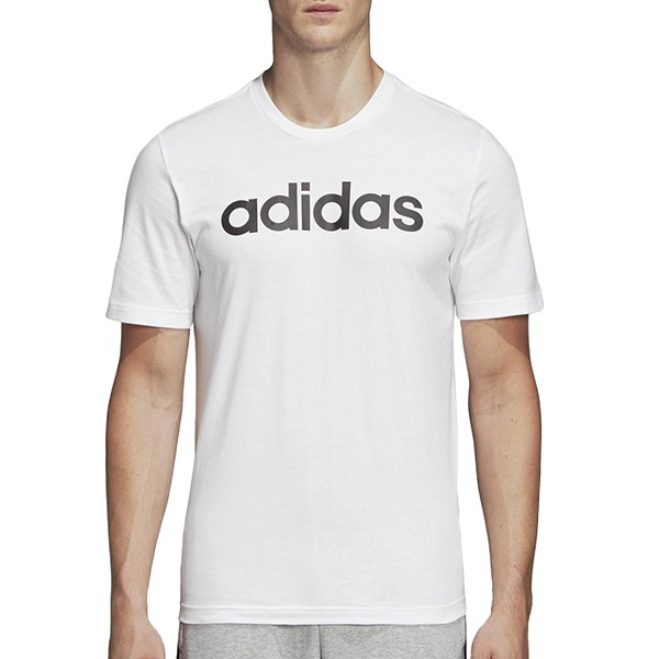 ADIDAS【DQ3056】短袖上衣 T恤 專業運動 LOGO字 白黑 男生