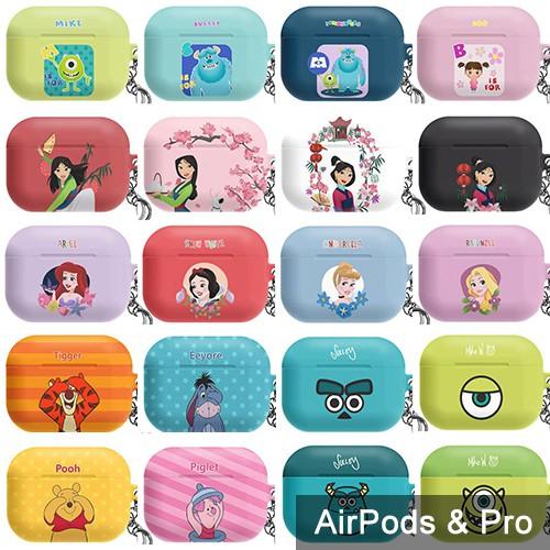 AirPods Pro 保護殼│迪士尼 小美人魚 樂珮 睡美人 白雪公主 灰姑娘 毛怪 大眼仔 小熊維尼│硬殼 保護套