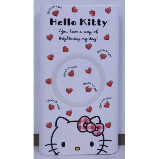 Hello Kitty 行動電源+無線充電器