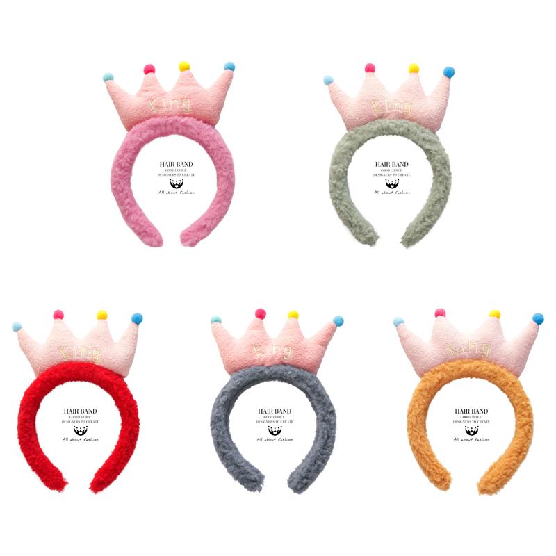 韓國皇冠髮帶髮箍女百搭外出頭箍頭飾發卡