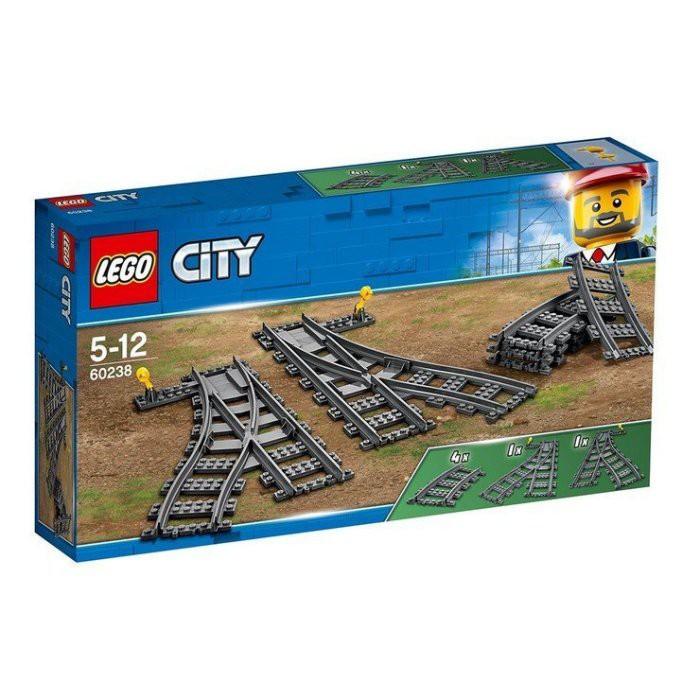 【小如的店】COSTCO好市多線上代購~LEGO 樂高積木 火車切換式軌道60238