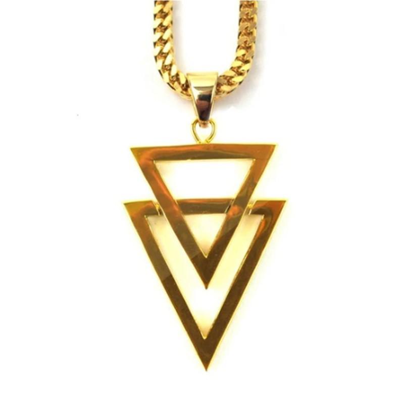 THE GOLD GODS 美式潮流 嘻哈 雙箭頭項鍊