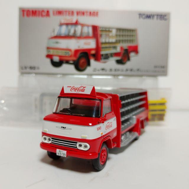 Tomytec TLV LV-92a NISSAN 3.5t TRUCK CocaCola 可口可樂 卡車 Tomica