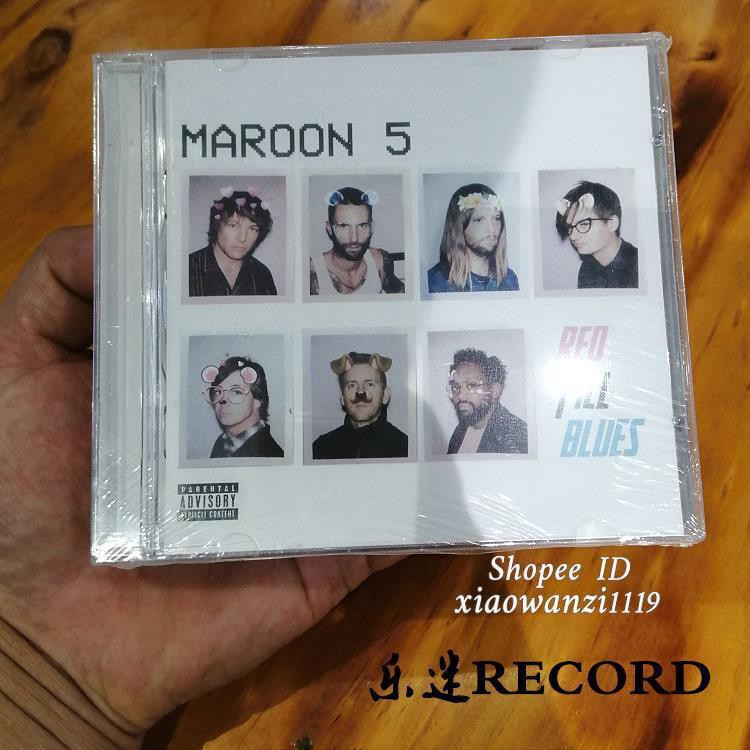 流行CD魔力紅MAROON5RedPillBlues唱片音樂CD