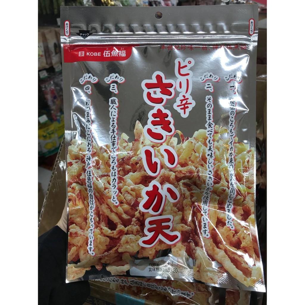 【現貨速出】日本製 神戶 伍魚福 香酥魷魚絲 原味/海苔/明太子/手羽先