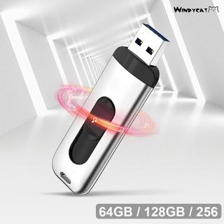 [Windycat] 用於 Pc 的 64 /  128 /  256gb 便攜式外部 Ssd Usb 3.1 高速 U 盤