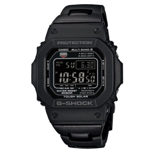 CASIO G SHOCK 經典潮流太陽能電波錶 GW-M5610BC-1