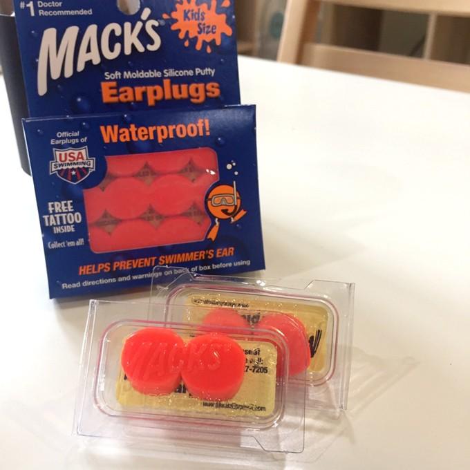 Mack's 正版授權【 1 副裝 ~ 兒童款 】美國原裝進口 ~ 兒童軟質矽膠耳塞【降噪22分貝】