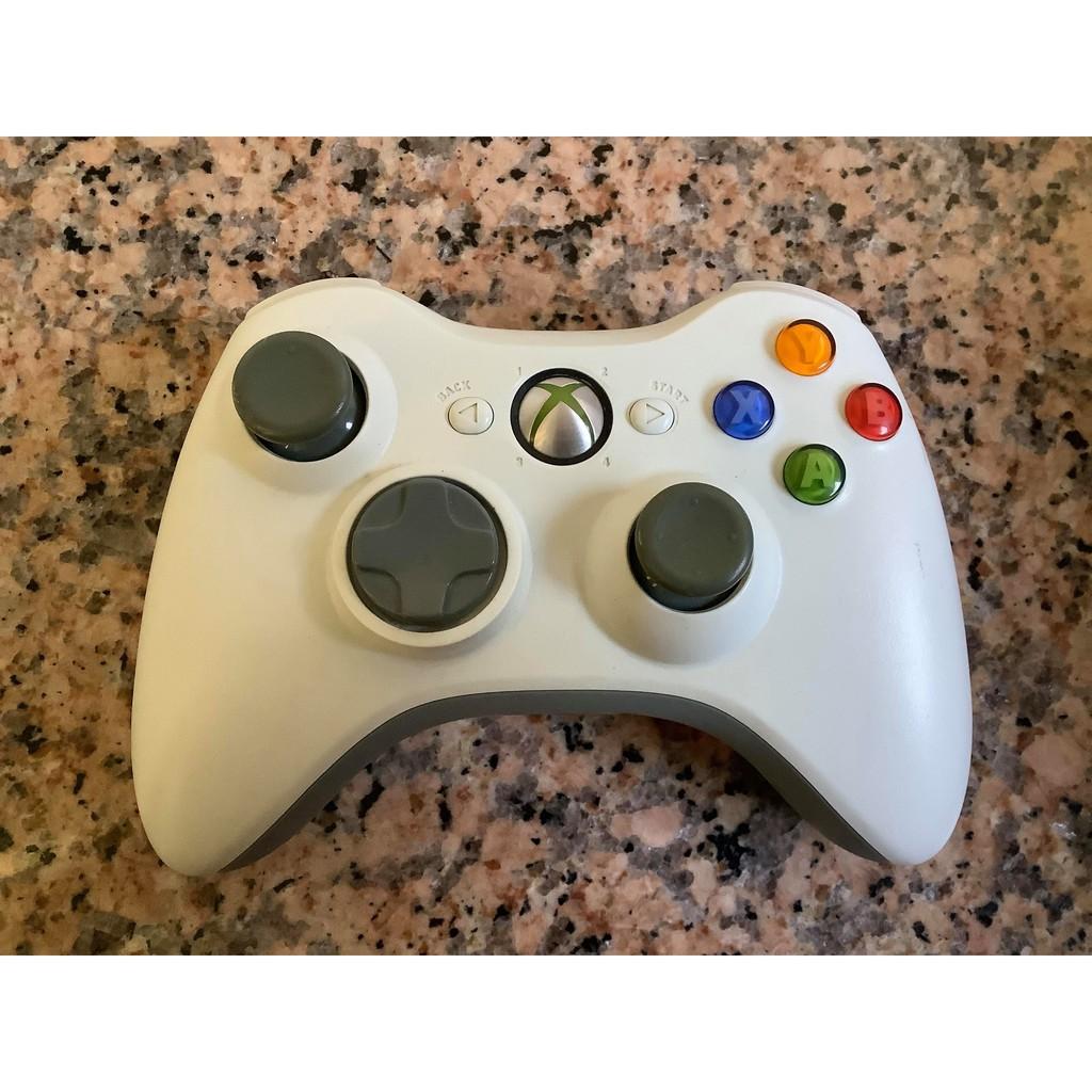 __二手良品_Xbox360原廠 把手無線/有線手把/遙控器(PC可用)