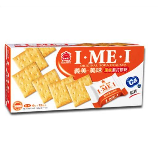 義美 美味原味蘇打餅/鮮蔥/紫菜 192g/盒裝