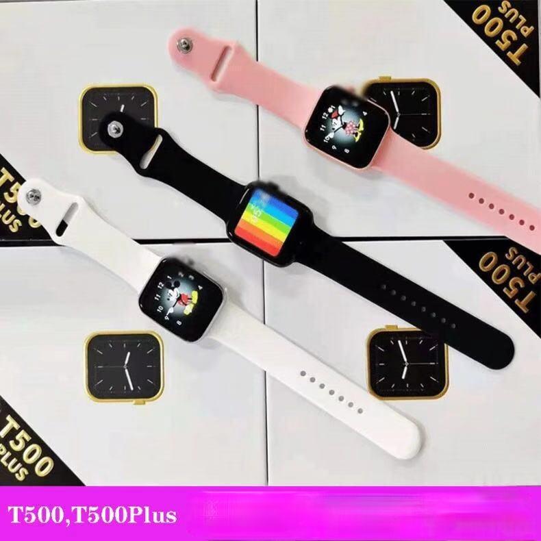 T500Plus智能手錶藍牙通話多種運動 T500+plus智能手環多功能運動手環運動計步卡路里消耗藍芽手錶藍牙智慧手環