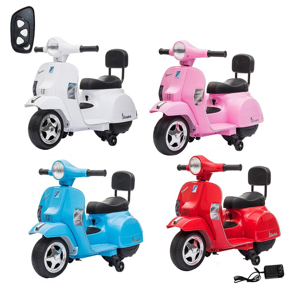 【瑪琍歐玩具】Vespa PX150迷你版(附遙控器)偉士牌兒童電動機車/A008-1